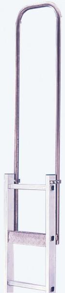 STABILO Einstiegshilfe, Halterahmen, Stahl verzinkt, Leiternaußenbreite 440 mm, 816504