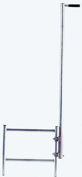 STABILO Einstiegshilfe, Haltestange mit einseitigem Griff, Edelstahl V4A, Holmbefestigung, 816450