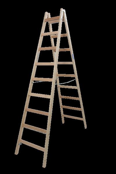 STABILO DoppelLeiter Holz 2x9 Spr.