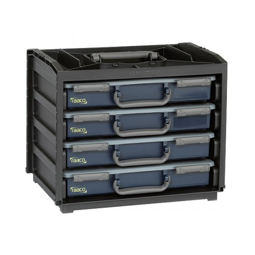 Raaco HandyBox 55x4 (bestückt & versandkostenfrei), 136242