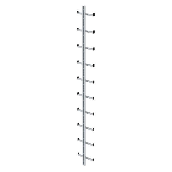 Günzburger Einholmleiter Länge 2,80m Alu, 77055