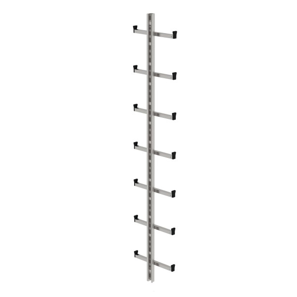 Günzburger Einholmleiter Länge 1,96m Edelstahl, 77554