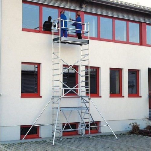 Guenzburger Klappgeruest PL-Hoehe 9,80m Groesse 0,75x1,80m, 115198