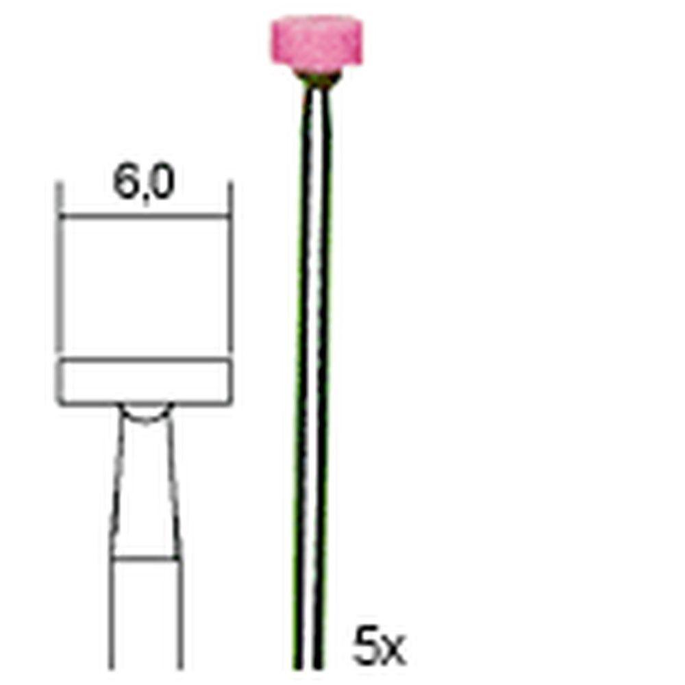 Proxxon Edelkorund-Schleifkörper Rad 6 mm 28776