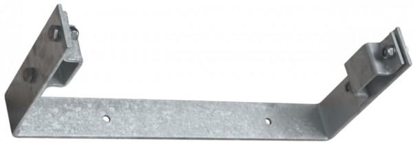 STABILO Ortsfeste Leitern, Systemteile, Maueranker, starr, U-Form, 150 mm für Aluminium, 838179