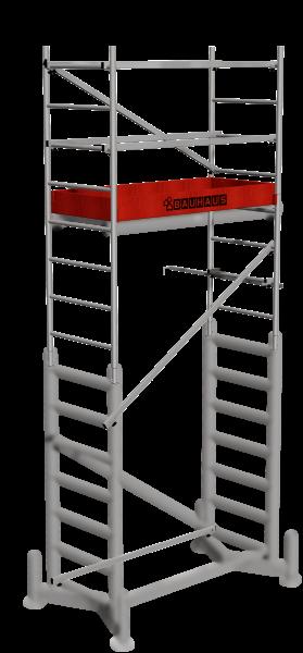 ClimTec Alu-ArbeitsGerüst 1. Aufstockung
