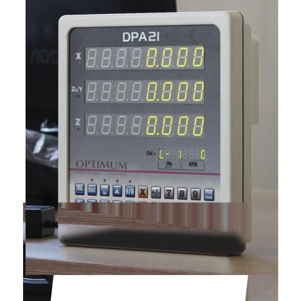 Optimum Leit- und Zugspindel-Drehmaschine OPTIturn TH 3309D, 3402040