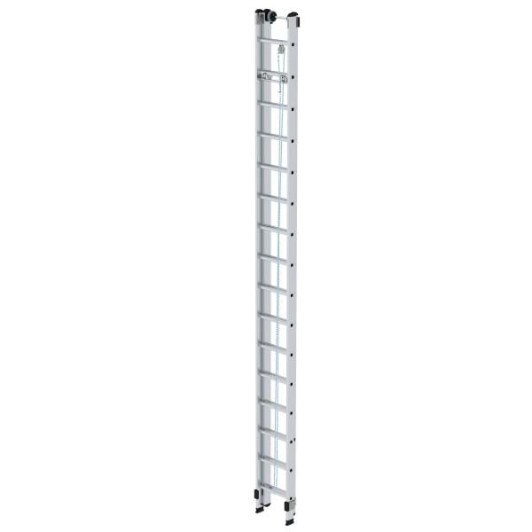 Günzburger Aluminium-Seilzugleiter 2 x 16 Sprossen, 21216