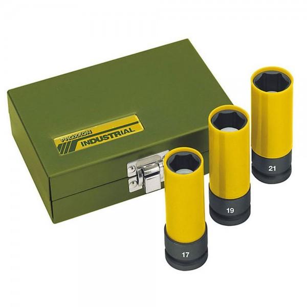 "Proxxon Impact Steckschlüsseleinsatz 1/2"", 17 mm, 23962"