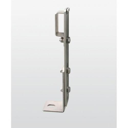 Guenzburger Verstellbare Maueranker mit Klemmbuegel Stahl verzinkt, 63262