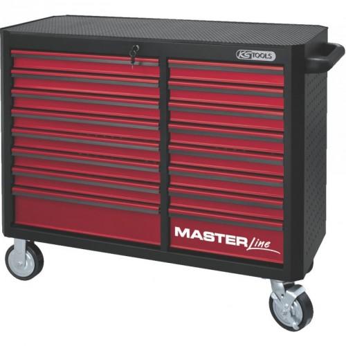 ks tools masterline schwarz rot gro raum werkstattwagen. Black Bedroom Furniture Sets. Home Design Ideas