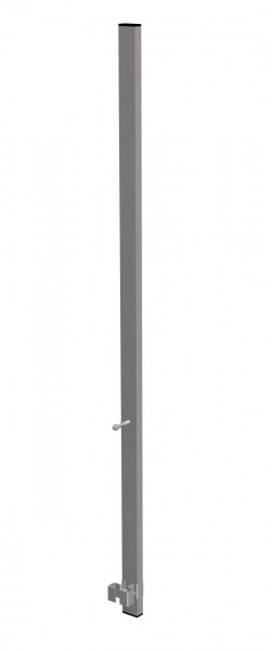 STABILO Ortsfeste Leitern, Systemteile, Ausstiegsholm, einseitig, Stahl verzinkt, 835772