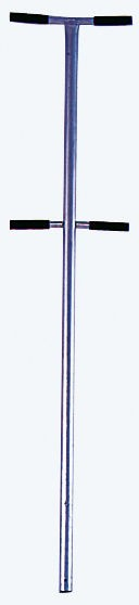 STABILO Einstiegshilfe, Haltestange mit Doppelgriffen, aus Edelstahl V4A (1.4571), gebeizt und passiviert, Artikel-Nr.: 816405