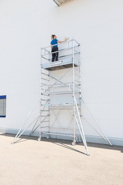 Günzburger Klappgerüst PL-Höhe 2,80m Größe 0,75 x 1,80m, 115128