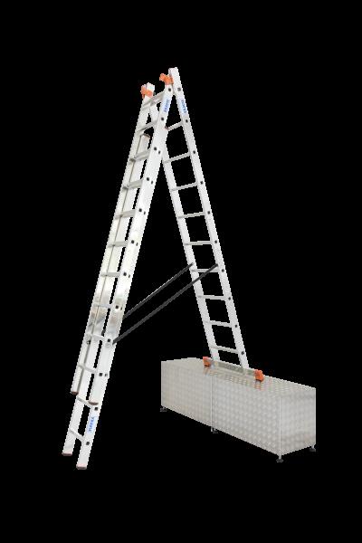 Tribilo VielzweckLeiter Treppe 3x10 Spr.