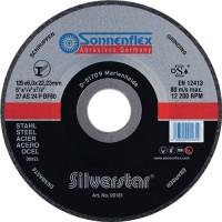 Schruppscheibe Sonnenflex 125x6,0x22.23 AS24PBF F27 Silverstar Dittmar-Art.-Nr.: 452820