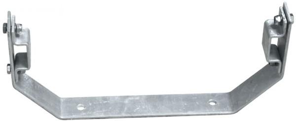 STABILO Ortsfeste Leitern, Systemteile, Maueranker, starr, V-Form, 150 mm für Stahl, 835109