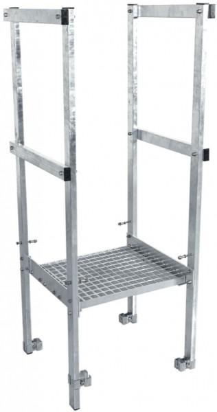STABILO Ortsfeste Leitern, Systemteile, Übergang für Stahl, verzinkt 450 mm, 836304