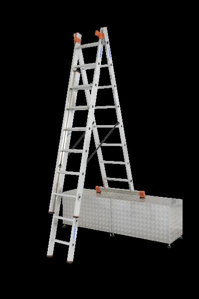 Tribilo VielzweckLeiter Treppe 3x8 Spr.