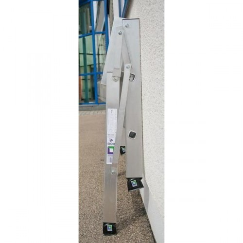 Guenzburger Aluminium-Arbeitspodest klappbar, einseitig begehbar 4 Stufen, 50007