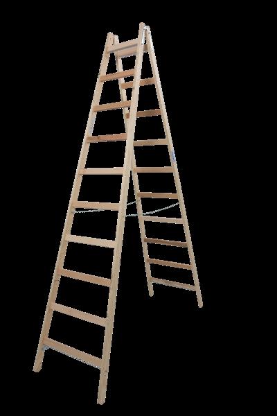 STABILO DoppelLeiter Holz 2x10 Spr.