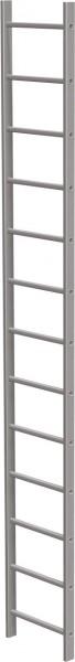 STABILO Ortsfeste Leitern, Systemteile, Leiternteil 3,64 m Aluminium, 838025