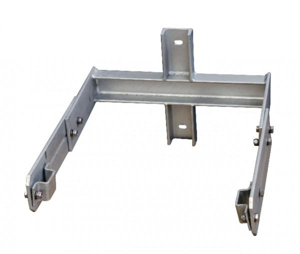 STABILO Ortsfeste Leitern, Systemteile, Maueranker für Stütze 350-550mm für  Aluminium, 838254