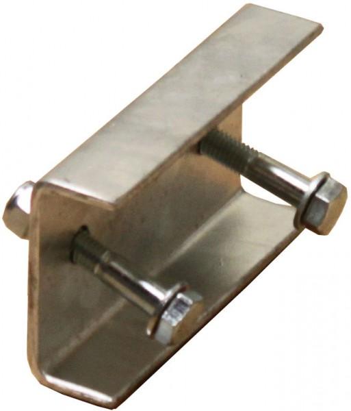 STABILO Ortsfeste Leitern, Systemteile, Steigleiternverbinder 100 mm für Stahl, verzinkt, 835529