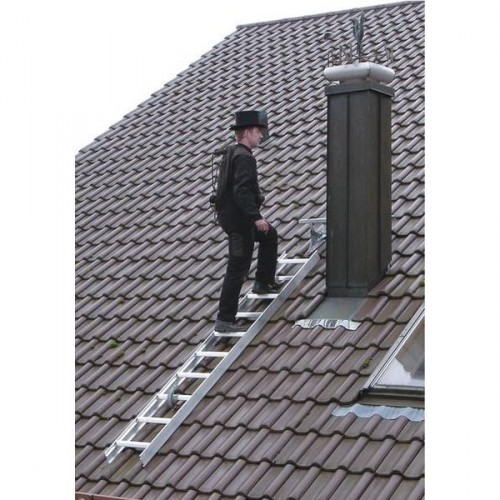 Guenzburger Dachleiter, 15 Sprossen, Anthrazit-grau, 11199
