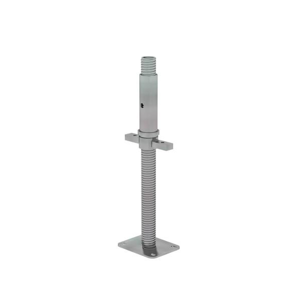 Günzburger Höhenverstellbare Spindel (300 mm, 137935 mit Fußplatte, 27104