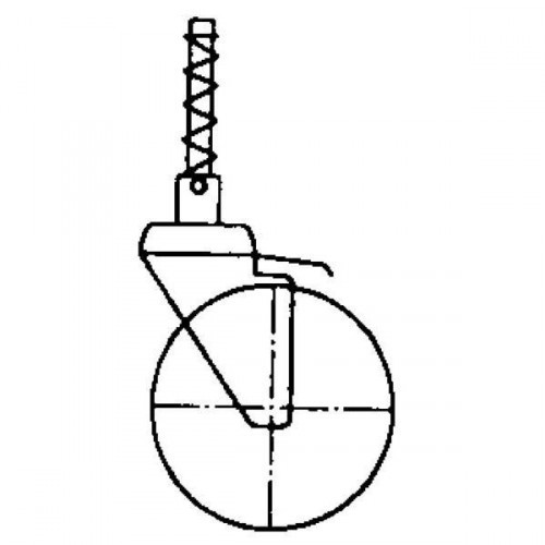 Guenzburger Federrolle fuer Podestleiter elektr, 50112