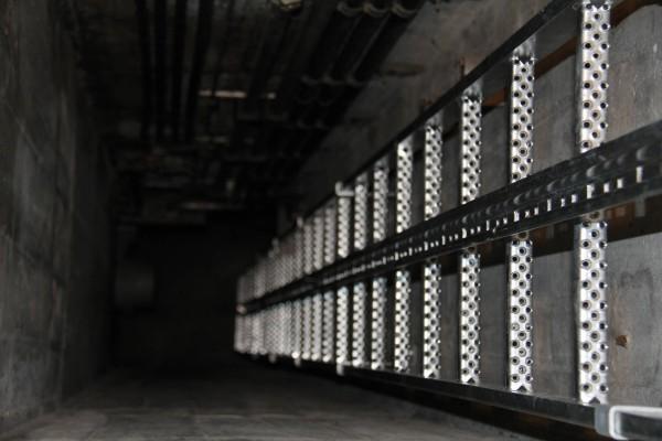 Günzburger Schachtleiter aus Stahl, feuerverzinkt, 12 Sprossen, 60012