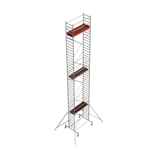STABILO FahrGerüst S10 FL.2,50 AH.12,40