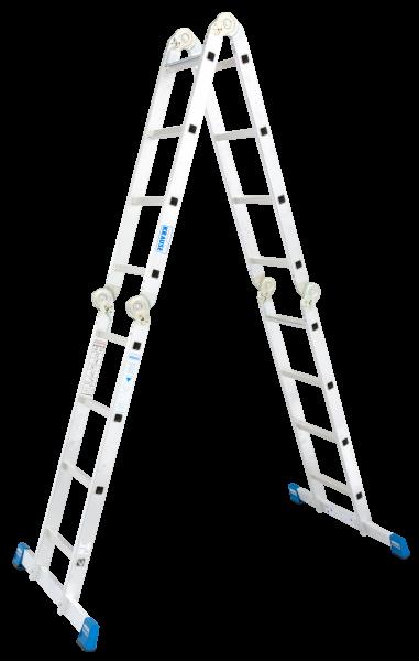 STABILO Gelenk-UniversalLeiter 4x4 Spr.