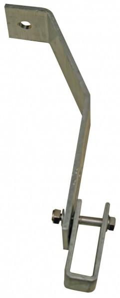 Zubehör SchachtLeitern, Wandanker verstellbar 360-410 mm, Edelstahl V4A (St.), 816399