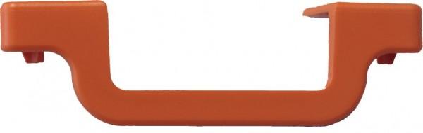 MONTO Stufenabschlusskappe rechts, orange, 7 Stück, 212894
