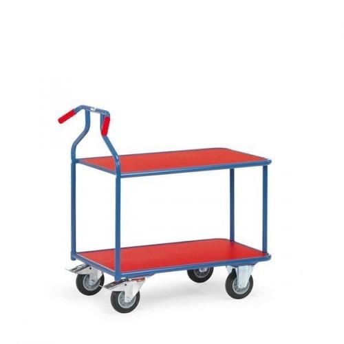 Fetra Optiliner-Tischwagen 3601 blau/rot,  3601
