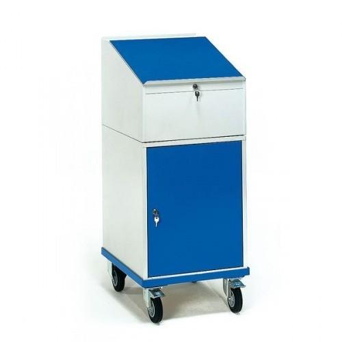 Fetra Rollschrank mit Schreibpult 2448