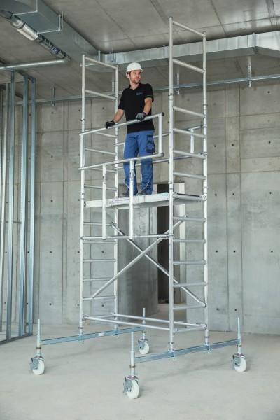 Günzburger Absturzsicherung für Rollgerüst 2,45m, 27953