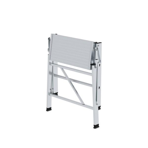 Günzburger Aluminium-Arbeitspodest klappbar, einseitig begehbar 3 Stufen, 50006