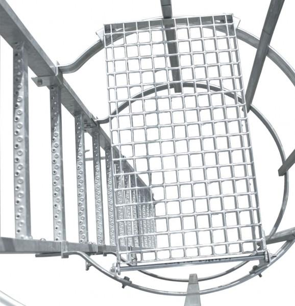 STABILO Ortsfeste Leitern, Systemteile, Zwischenboden, klappbar für Stahl, 835475