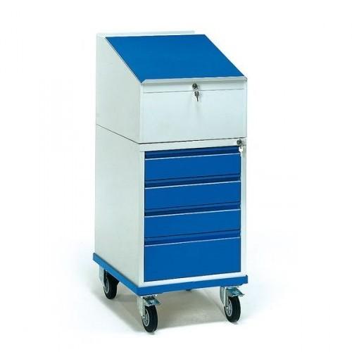 Fetra Rollschrank mit Schreibpult 2449