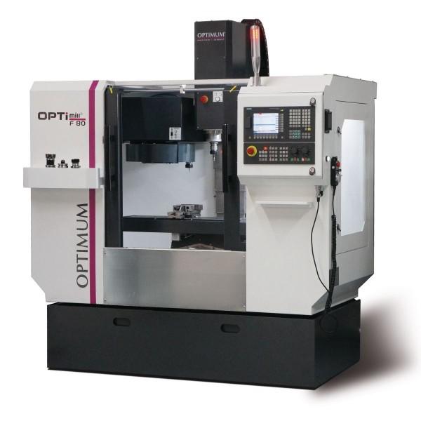 Optimum OPTImill F 80 CNC-Fräsmaschine mit Siemens Steuerung, 3501080