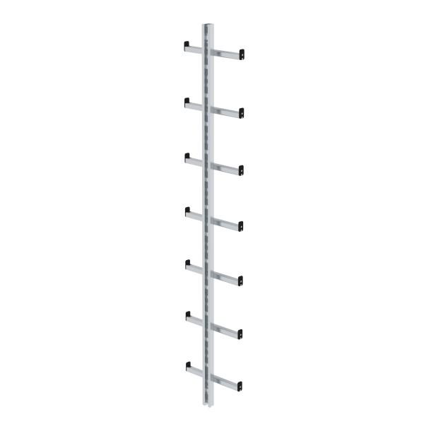 Günzburger Einholmleiter Länge 1,96m Alu, 77080
