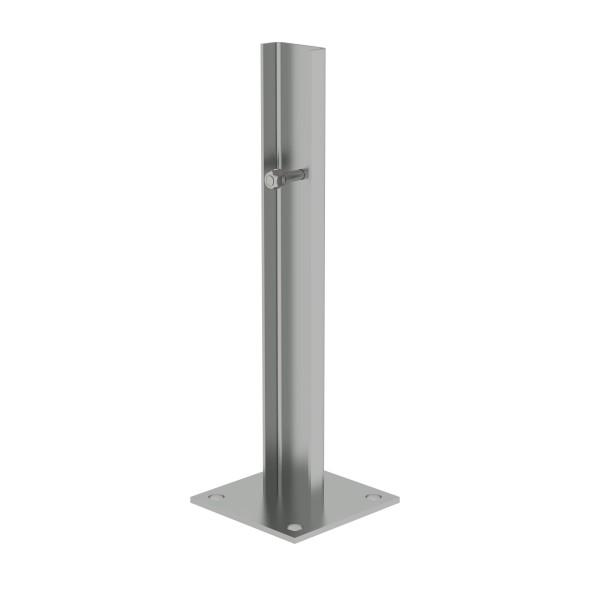 Günzburger Fußplatte Stahl verzinkt, 63253
