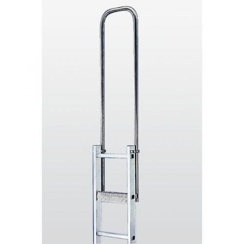 Guenzburger Einstiegshilfe Breiten 340mm Stahl verz, 65008