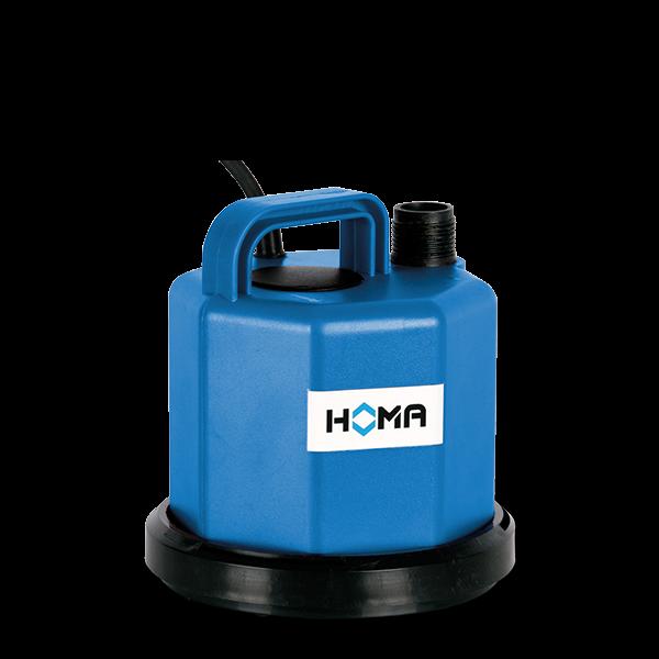*Homa Tauchmotorpumpe C 80 W, flachsaugend (blau), 9010240.1