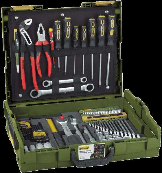 Proxxon Handwerker-Universal-Werkzeugkoffer in der bewährten L-BOXX, 23660
