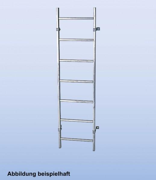SchachtLeitern aus Edelstahl V4A, Lichte Weite 300 mm, Länge 1,12 m, Außenbreite 340 mm, 4 Sprossen, Artikel-Nr.: 816030