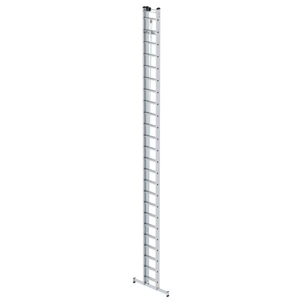 Günzburger Aluminium-Seilzugleiter 2-teilig mit nivello-Traverse 2 x 24 Sprossen, 21324